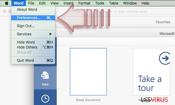 Wie deaktiviert man Makros in Windows und Mac OS X?-Screenshot