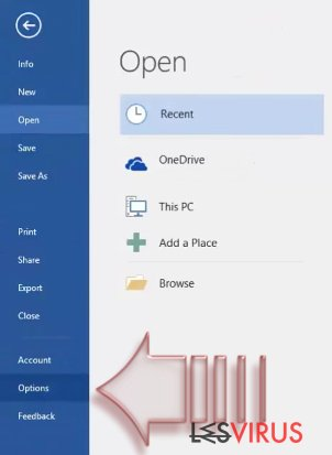 Wie deaktiviert man Makros in Windows und Mac OS X?-Screenshot