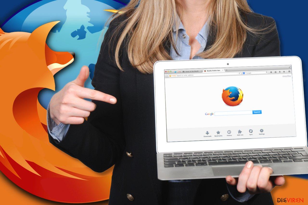 Wie setzt man Mozilla Firefox zurück?-Screenshot