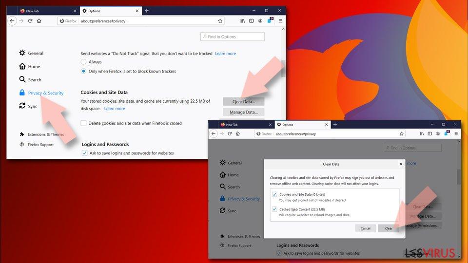 Mozilla Firefox zurücksetzen