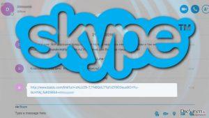 Schädliche Links bei Skype sind ein Zeichen für einen weiteren Virenausbruch
