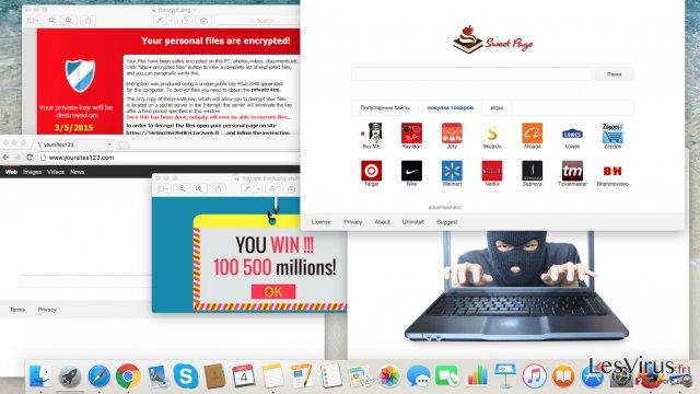 Cyberbedrohungen vor die man sich dieses Jahr in Acht nehmen sollte: Adware, Browser-Hijacker und Erpressersoftware-Screenshot