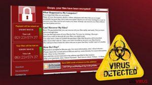 WannaCry im Umlauf. Tausende von Computernutzern sind in Gefahr.