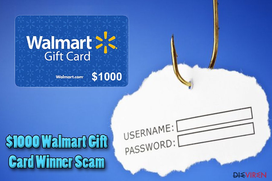 """$1000 Walmart Gift Card Winner""-Virus"