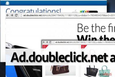 Abgebildet sind Ad.doubleclick.net-Anzeigen