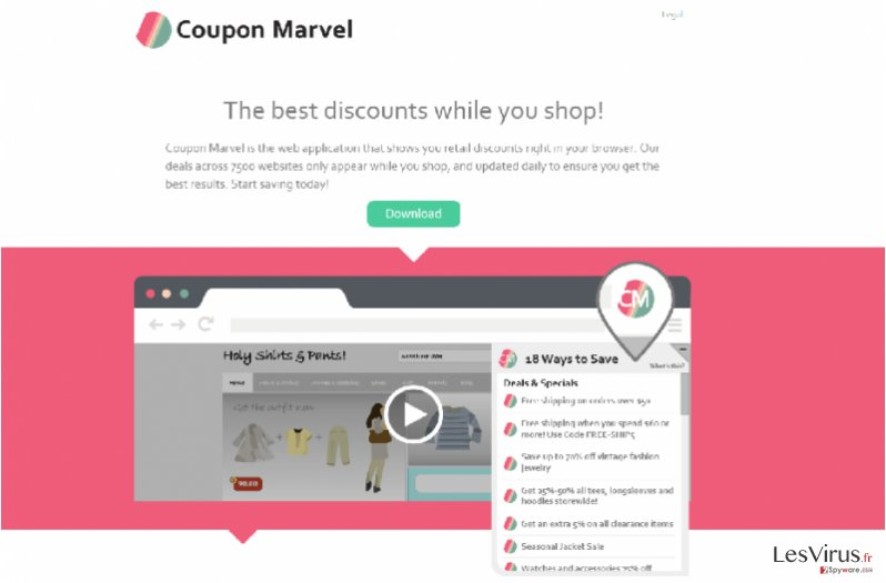 Anzeigen von Coupon Marvel-Screenshot