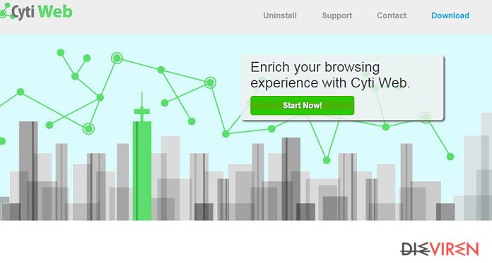 Cyti Web-Screenshot