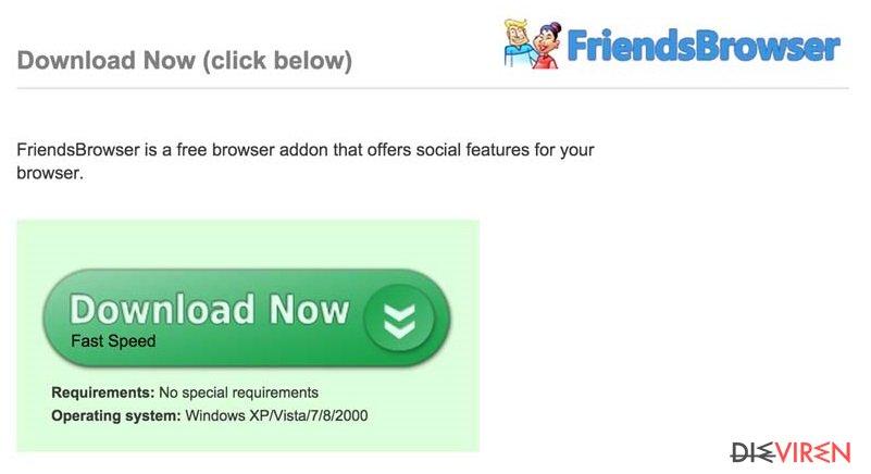 FriendsBrowser-Screenshot