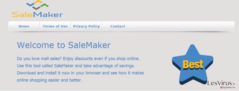 Anzeigen von SaleMaker-Screenshot