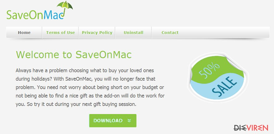 SaveOnMac-Screenshot