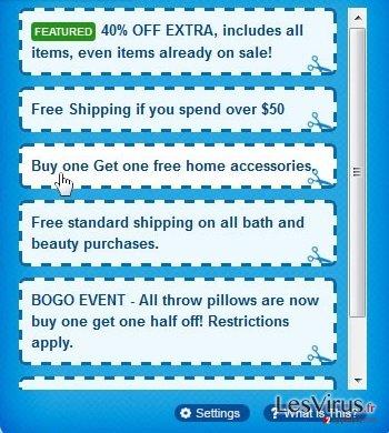 Anzeigen von Shoppy-Screenshot