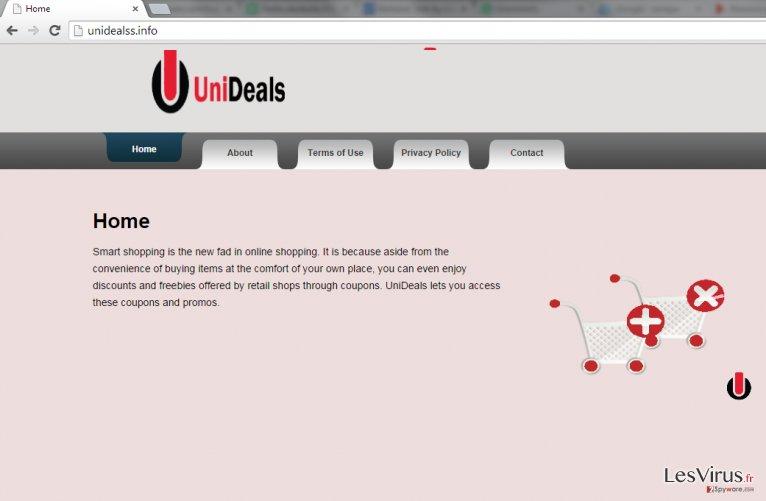 Anzeigen von UniDeals-Screenshot