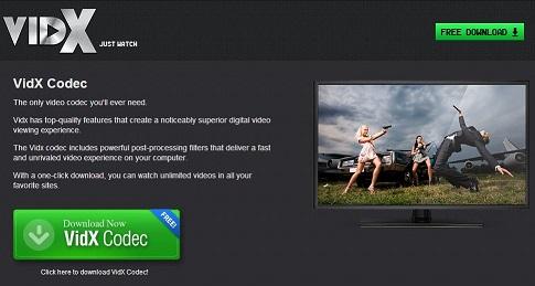 Anzeigen von Vidx-Screenshot