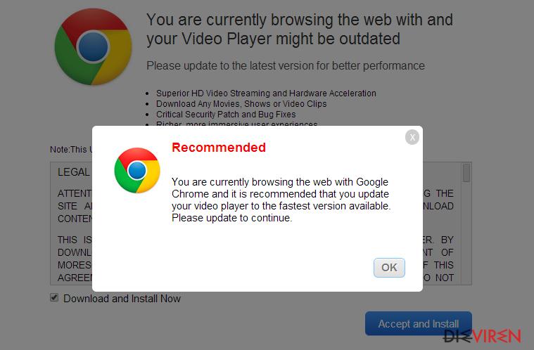 """""""Outdated Java Plugin Detected""""-Virus-Screenshot"""
