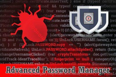 Scareware Advanced Password Manager