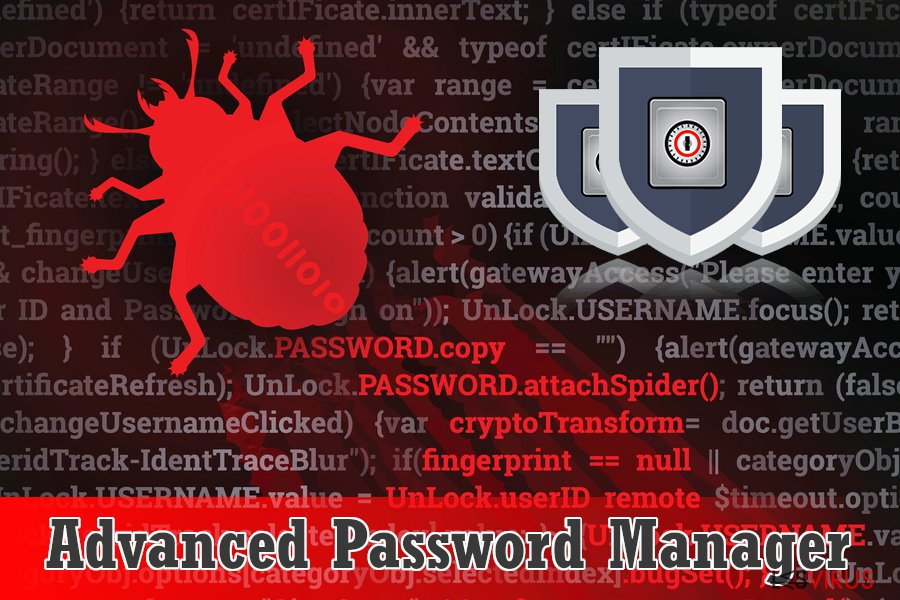 Scareware Advanced Password Manager