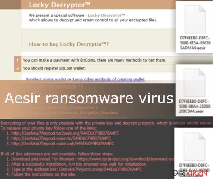 Aesir virus is another version of the Locky