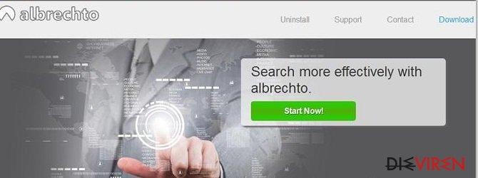Albrechto-Anzeigen-Screenshot