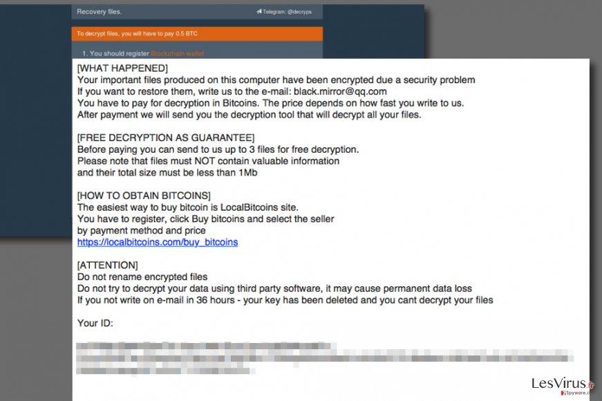 Aleta ransomware