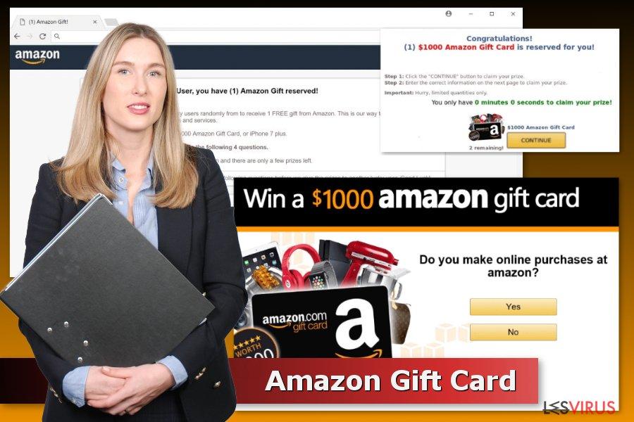 """Beispiele für """"Amazon Gift Card""""-Betrugsmaschen"""