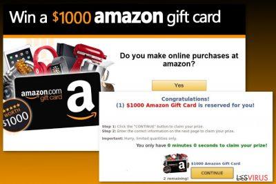 """""""Amazon Gift Card""""-Virenbeispiel"""