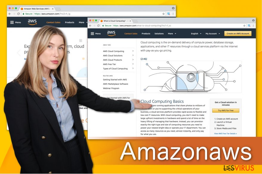 Illustration Amazonaws
