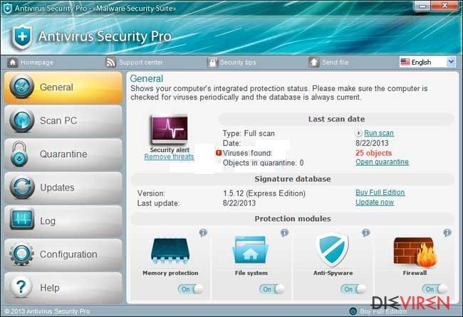 Antivirus Security Pro-Screenshot