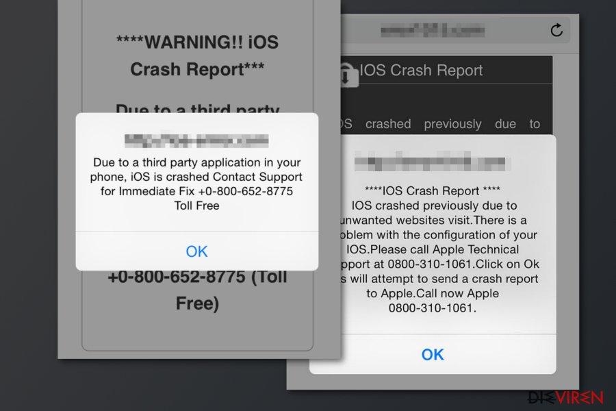 APPLE SECURITY BREACH-Screenshot