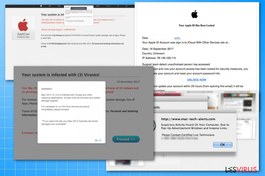 Apple-Virenbetrüge