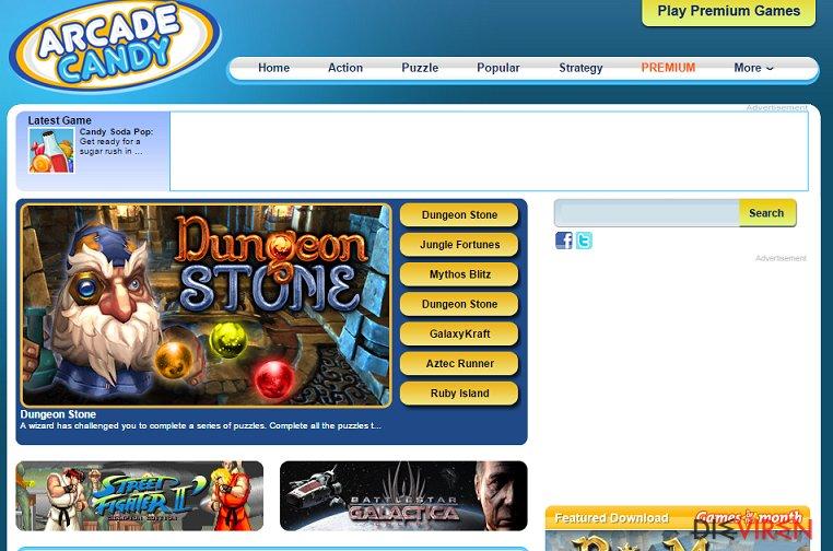 Arcade Candy-Screenshot