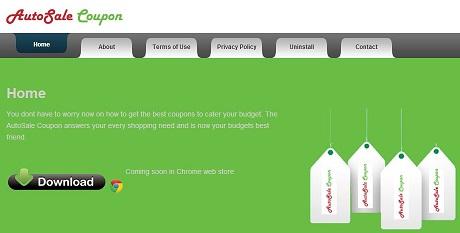 AutoSale-Coupon-Adware-Screenshot