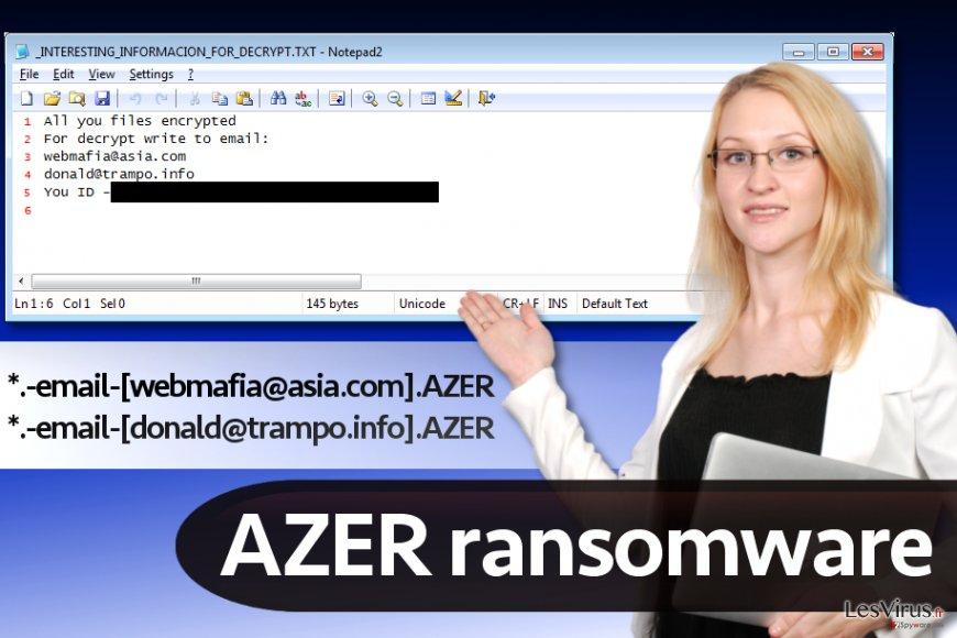 Azer-Schadsoftware (CryptoMix-Variante)