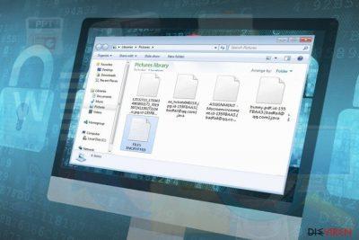 Badfail@qq.com-Erpressersoftware macht Benutzerdateien unlesbar