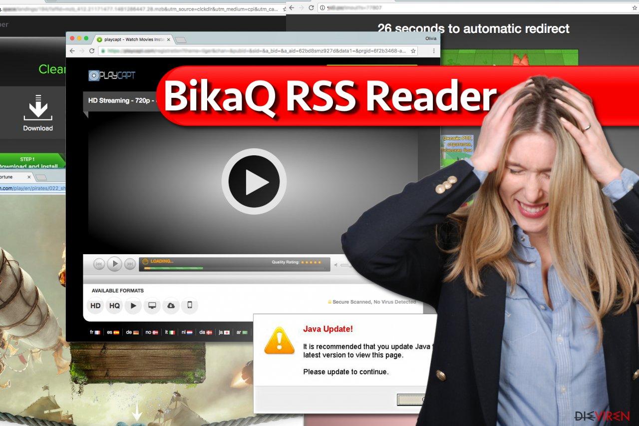 BikaQ RSS Reader