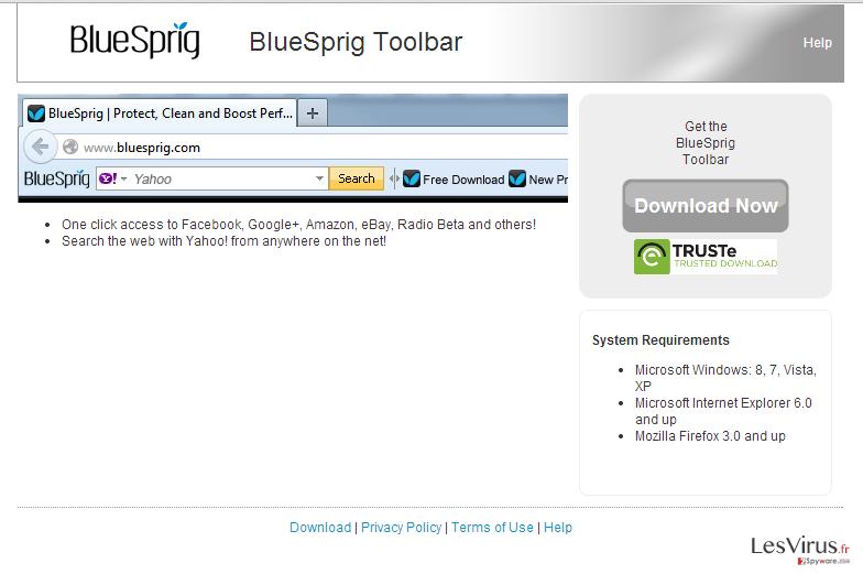 BlueSpring-Toolbar-Screenshot
