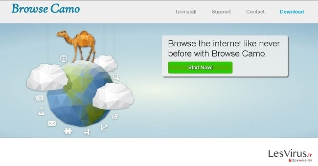 Anzeigen von Browse Camo-Screenshot