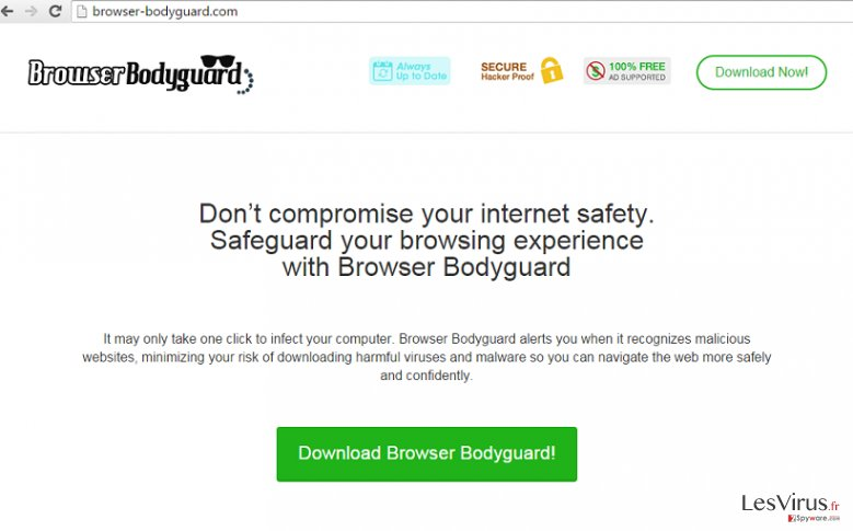 Browser Bodyguard-Screenshot