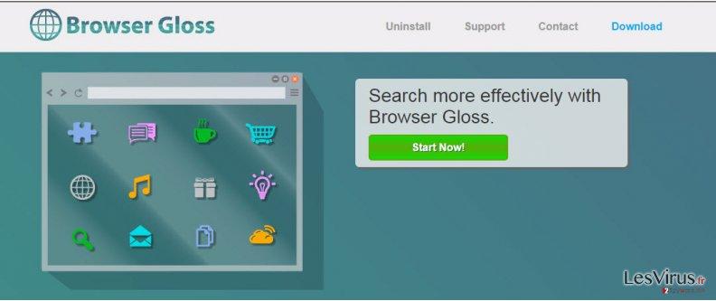 Anzeigen von Browser Gloss-Screenshot