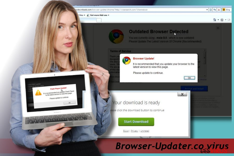 Browser-Updater.co Pop-up Virus-Screenshot