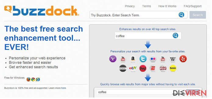 Buzzdock-Screenshot