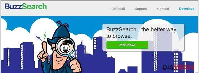BuzzSearch-Screenshot