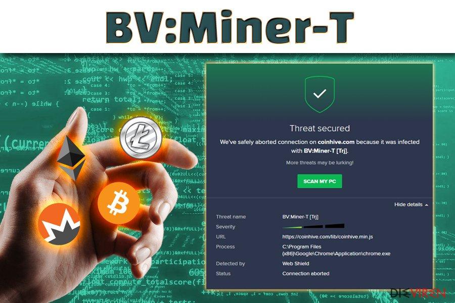 Der Kryptojacker BV:Miner-T