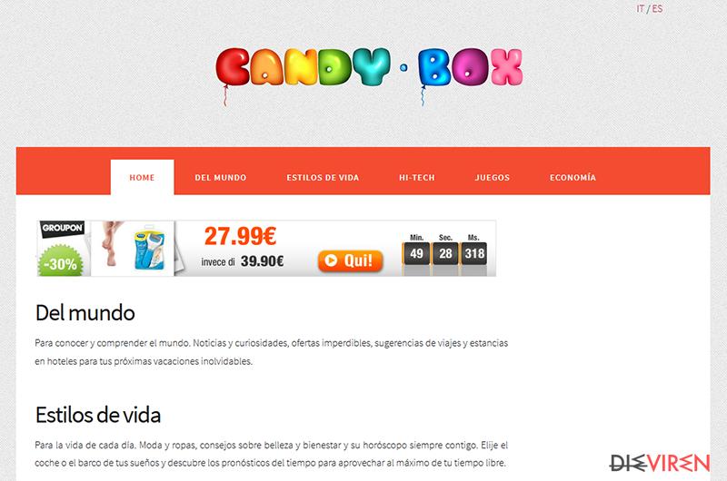 CandyBox-Screenshot