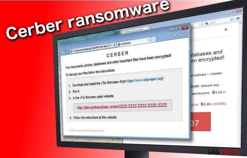 Cerber-Erpressersoftware