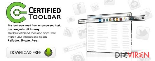 Certified-Toolbar-Screenshot