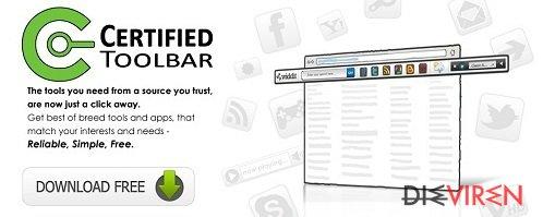 Certified-Toolbar-Screenshot