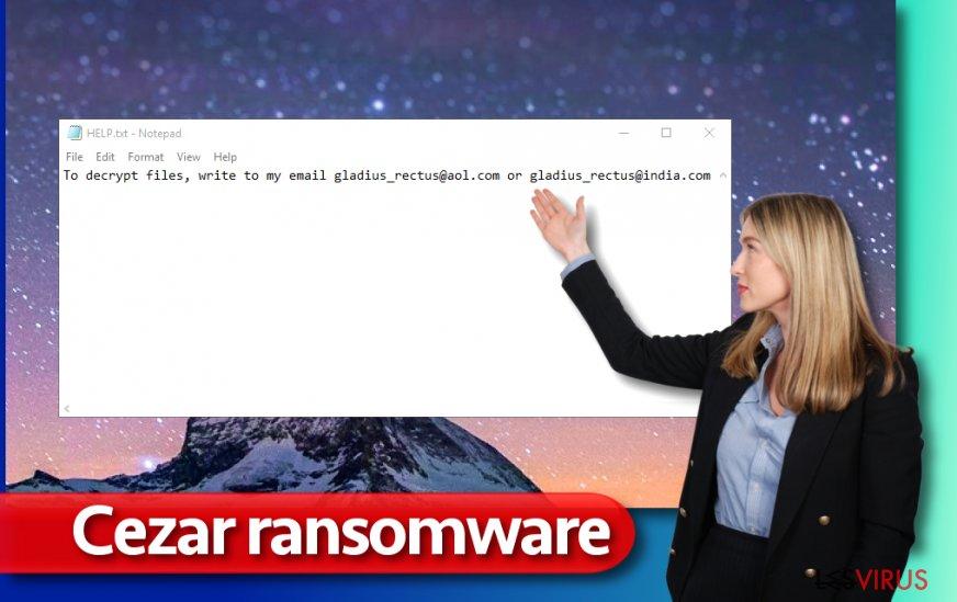 Cezar-Erpressersoftware