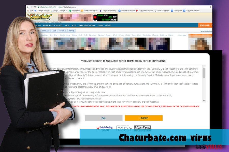 Abbildung Chaturbate.com-Virus