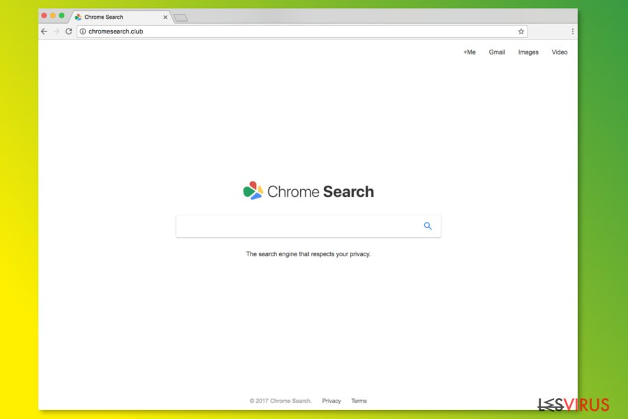 ChromeSearch.club-Startseite