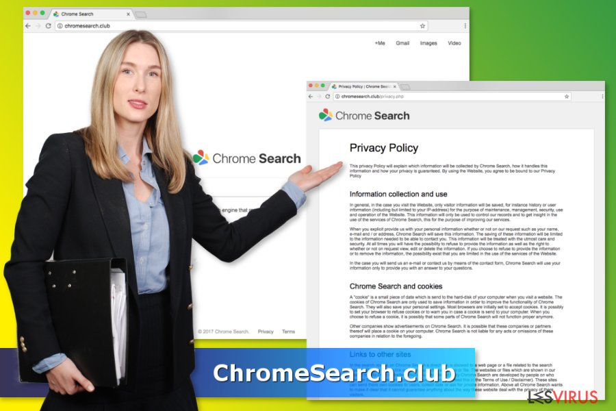 ChromeSearch.club-Virus